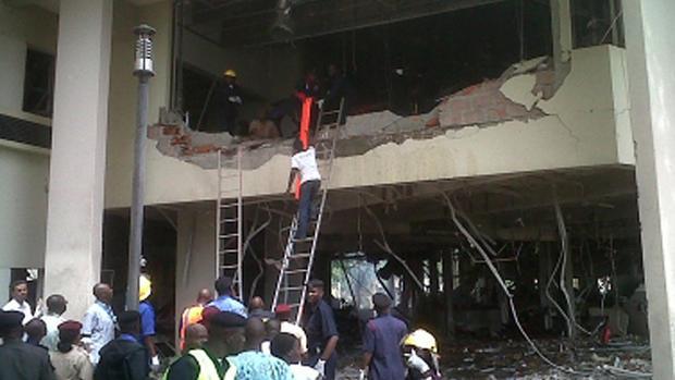 Bomb hits Nigeria U.N. office