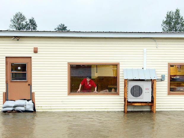 Irene's flooding