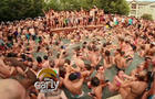 Some 2,500 people showed up for what was supposed to be a small annual welcome-back-to-school pool party at an apartment complex outside Colorado State University in Fort Collins -- after the invite was posted on Facebook.