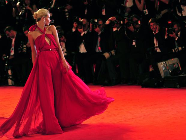 "Madonna's ""W.E."" premieres"
