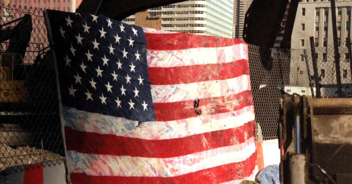 007ab2c07ac Flags from Ground Zero - Photo 1 - Pictures - CBS News