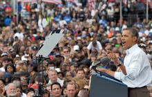 Obama addresses labor unions in Detroit
