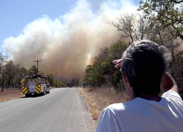 """Historic"" Texas wildfires"