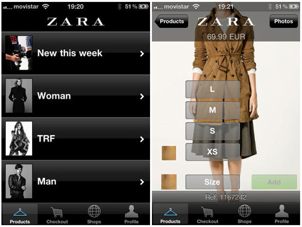 b83800d4fd8 Zara - Be fabulous! 10 fashion apps worth downloading - Pictures - CBS News