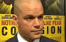 "Matt Damon's ""Contagion"" spreads"