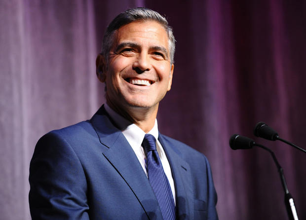 George Clooney charms Toronto fest
