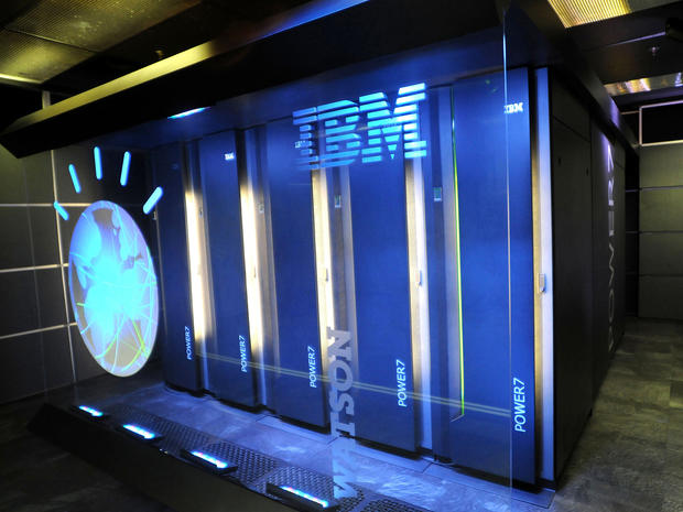 The IBM computer system known as Watson is seen at IBM's T.J. Watson research center in Yorktown Heights, N.Y., Jan. 13, 2011. Watson is being tapped by one of the nation's largest health insurers, WellPoint Inc., to help diagnose medical problems and authorize treatments.