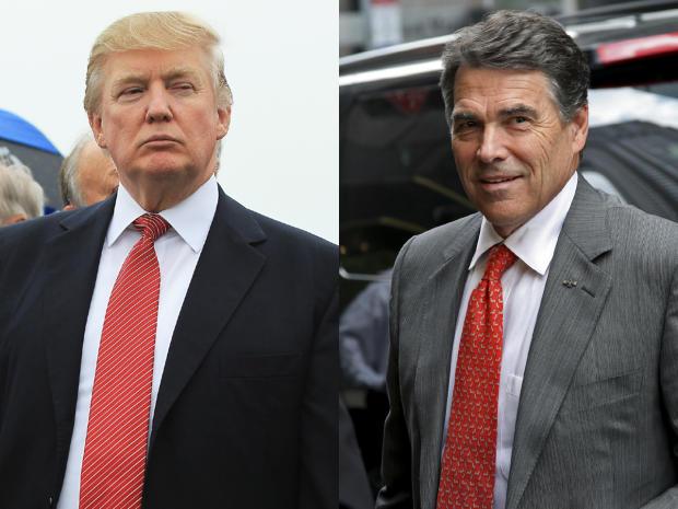 Donald Trump, Rick Perry