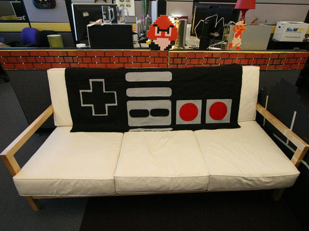 Super Mario Bros Style 25 Cubicles Cooler Than Yours