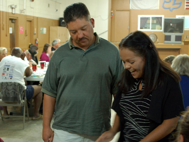 Tim and Sandra Cordova at Albuquerque's Joy Junction shelter