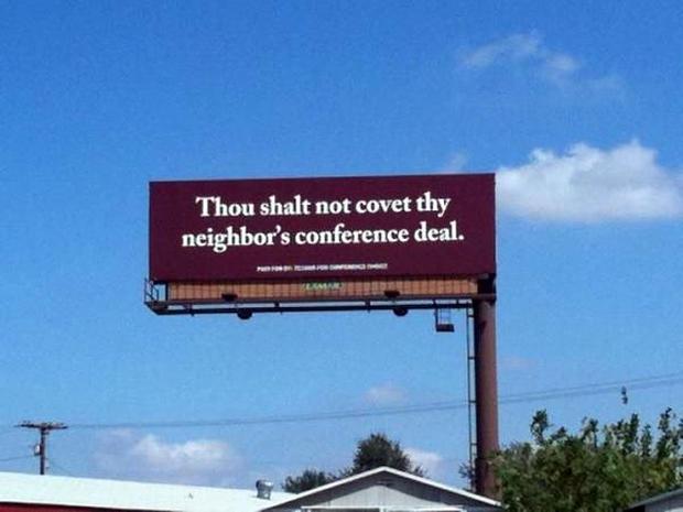 Waco billboard
