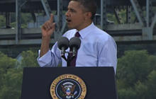 Obama: I'm a warrior for the middle class