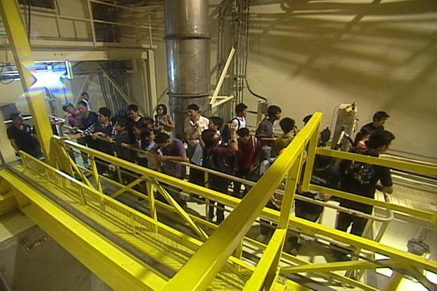 Nuclear power plant tour