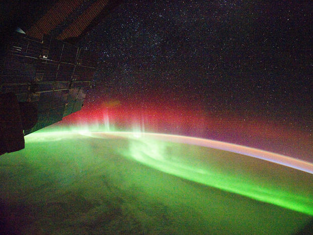 Rare footage of the southern lights