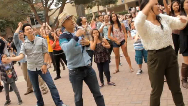 Another Amazing Flash Mob Wedding Proposal This Time At Ucla Cbs
