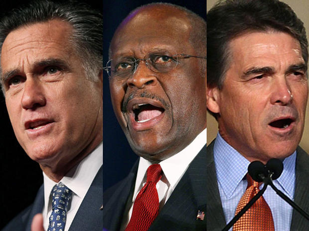 Romney, Cain, Perry