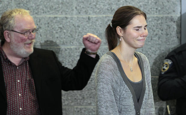 Amanda Knox comes home to America