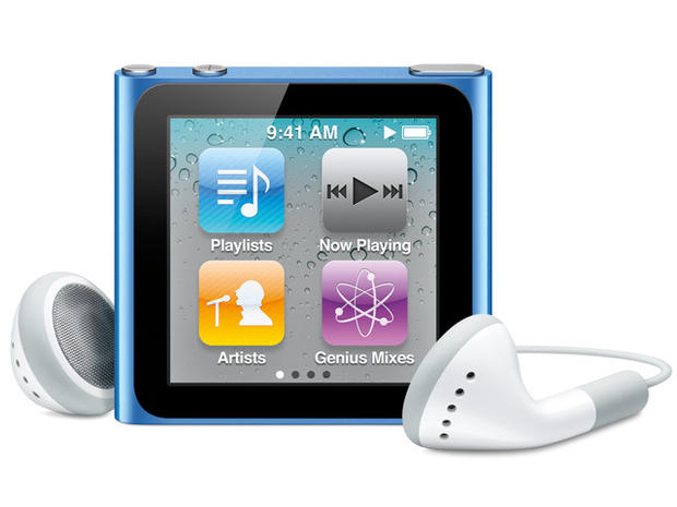 Apple iPod nano through the years