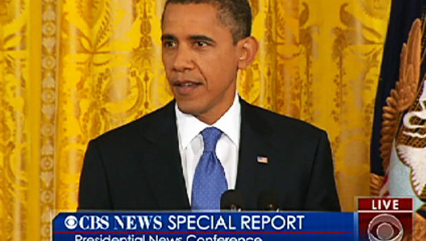 President Obama press conference