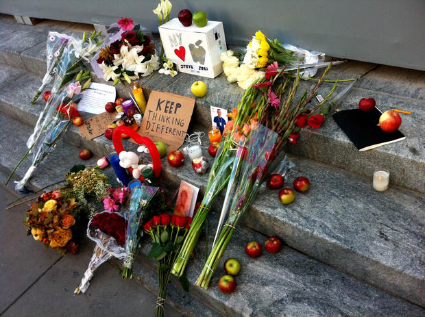 The world pays homage to Steve Jobs