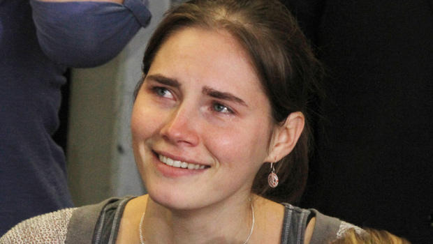Amanda Knox during a news conference in Seattle on Oct. 4, 2011.