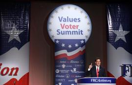 Rick Santorum, Values Voters