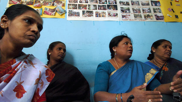 study gates aids project spared 100k in india cbs news