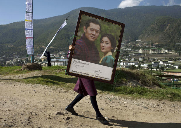 Bhutan prepares for a royal wedding
