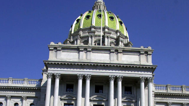 The Pennsylvania Capitol is seen Oct. 5, 2001, in Harrisburg, Pa.