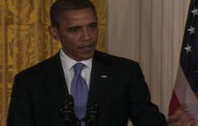 Obama vows toughest sanctions to date on Iran
