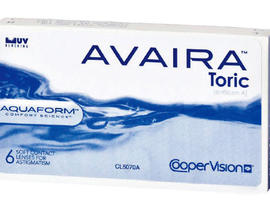 avaira toric, contact lenses, coopervision