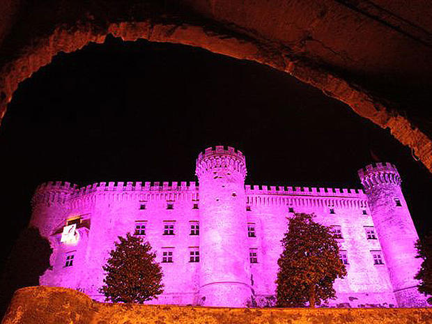 Breast cancer campaign turns planet pink: Too much?