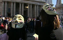 """Occupy Wall Street"" lands in Europe"