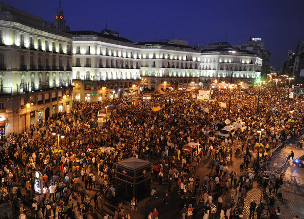"""Occupy"" protests go global"