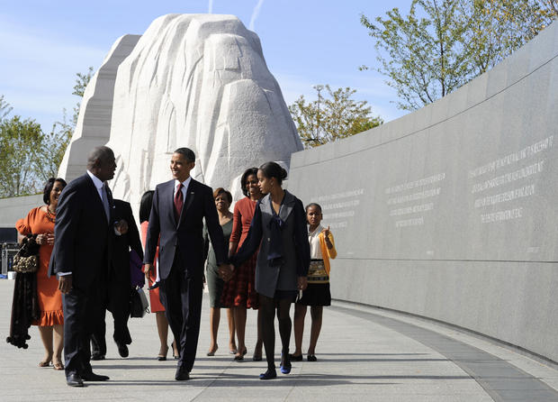 MLK, Jr. Memorial dedication