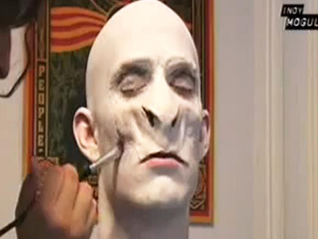lord voldemort harry potter incredible halloween costume tutorials on youtube pictures cbs news