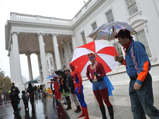 White House Halloween 2011
