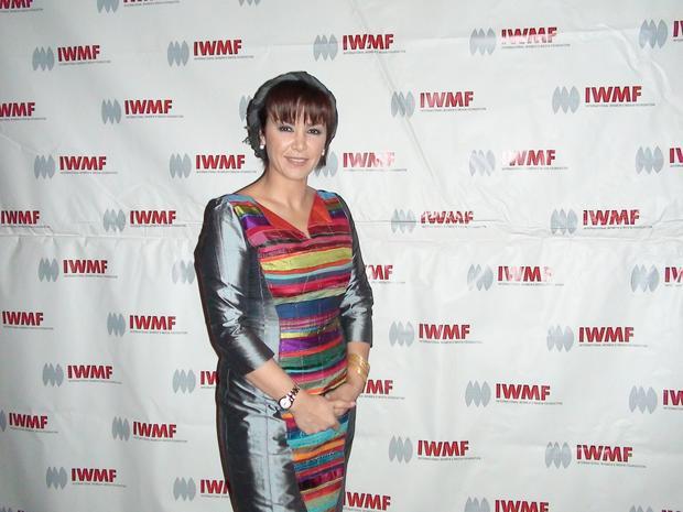 Iranian journalist Parisa Hafezi
