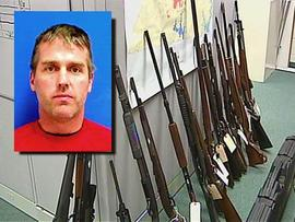 Jeremy Mayfield arrested for meth, guns and stolen goods
