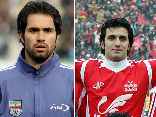Iran soccer players