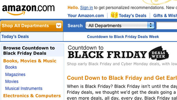 """Amazon starting """"Black Friday Deals"""" right now!"""
