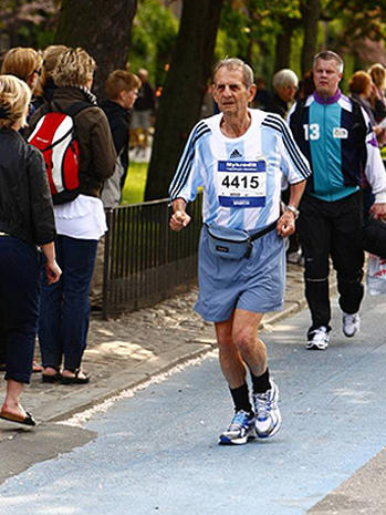 NYC marathon's oldest runners: How'd they do?