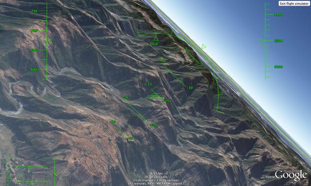 Google Earth Flight Simulator Amazing Google Easter Eggs - Google earth