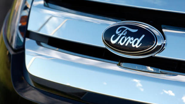 U s consumers borrow more in february to buy cars cbs news for Ford motor company credit card