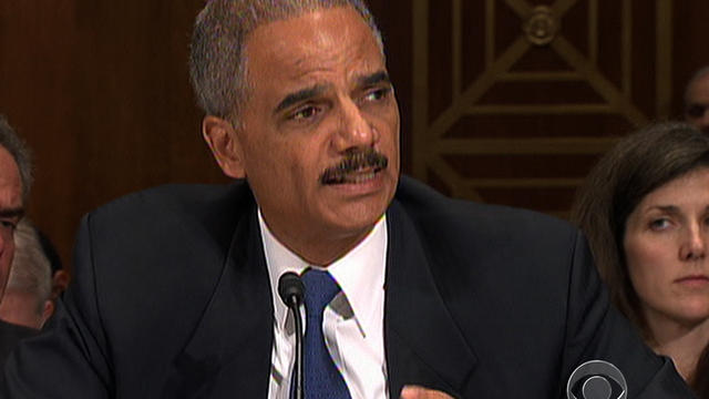 Holder: Any instance of gunwalking is unacceptable