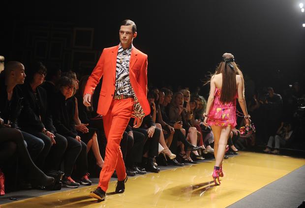 Versace debuts H&M line
