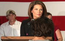 Occupy Wall Street protesters crash Bachmann event