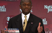 Cain on dealing with the Arab Spring