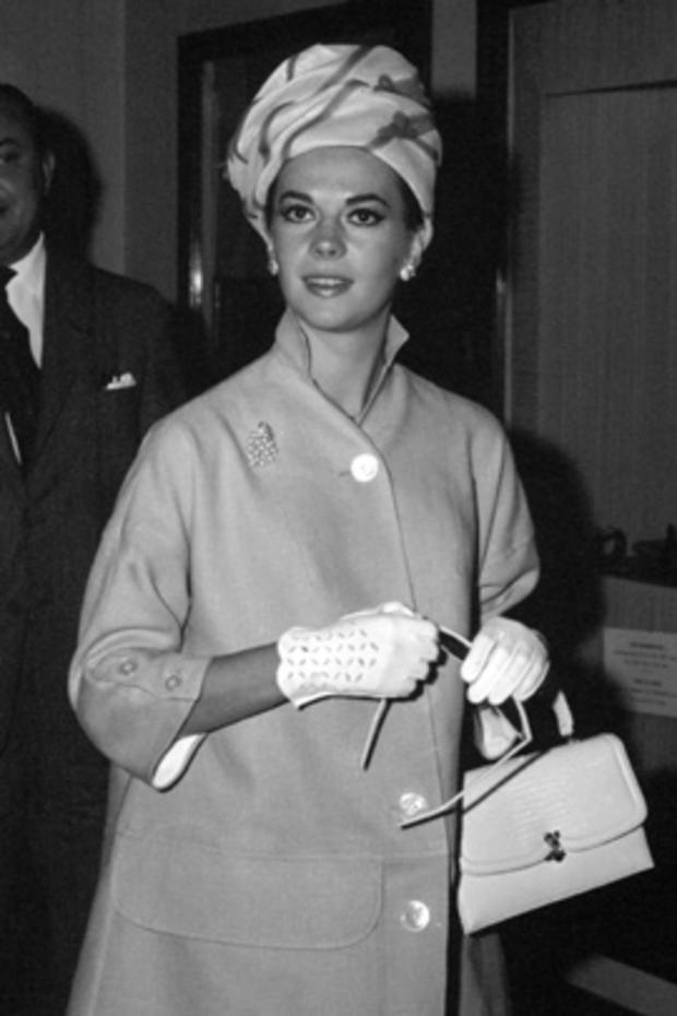 Natalie Wood in France in the 1960s.