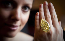World's largest yellow diamond sells for $10.7M